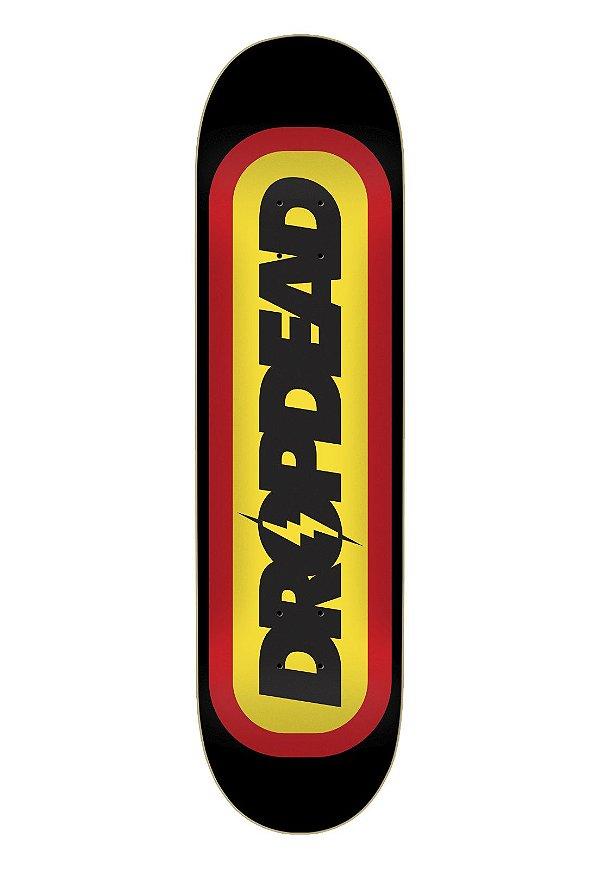 "Shape Drop Dead skateboard Rayo Black 7.9"" - + Lixa grátis"