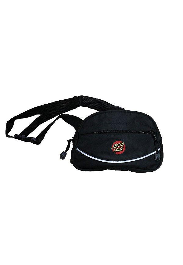 Shoulder Bag Santa Cruz Connect retangular - Preta
