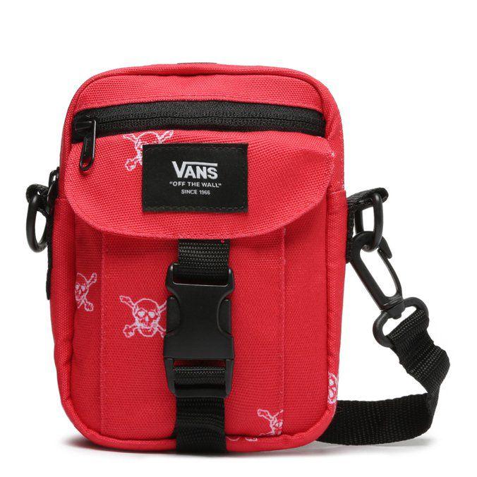 SHOULDER BAG VANS NEW VARSITY RED - EXCLUSIVO