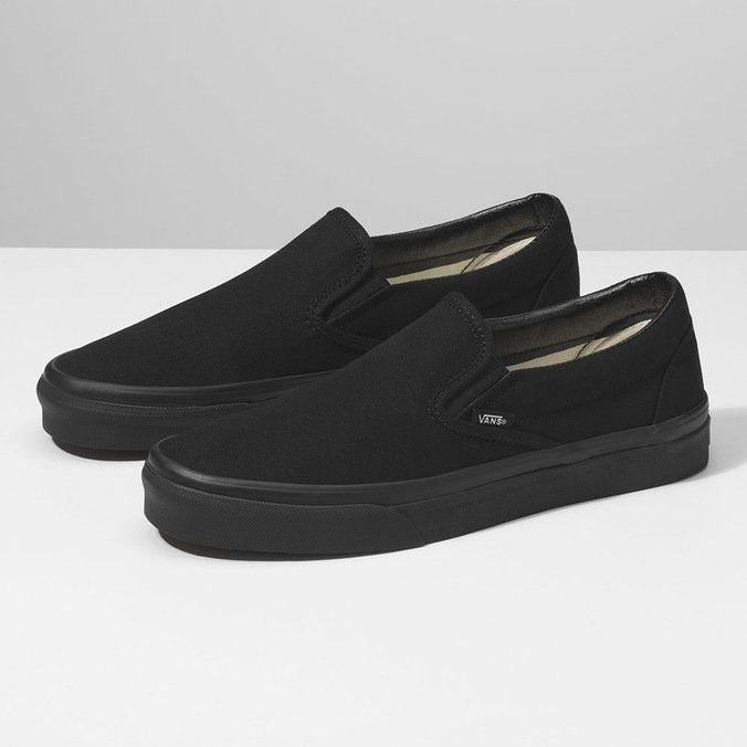 TÊNIS VANS SLIP-ON CLASSIC - BLACK/BLACK
