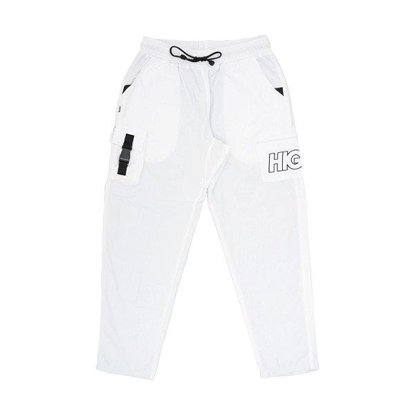 CALÇA HIGH COMPANY CARGO TRACK PANTS WHITE