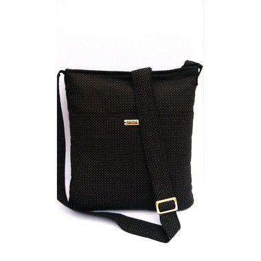 Bolsa tiracolo tecido