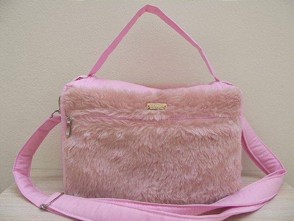 Bolsa para vade mecum rosa