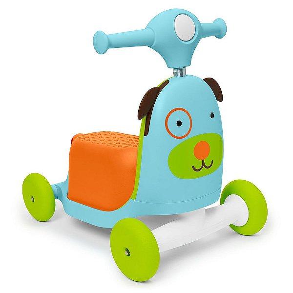 Triciclo Patinete Cachorrinho 3 em 1 da Skip Hop