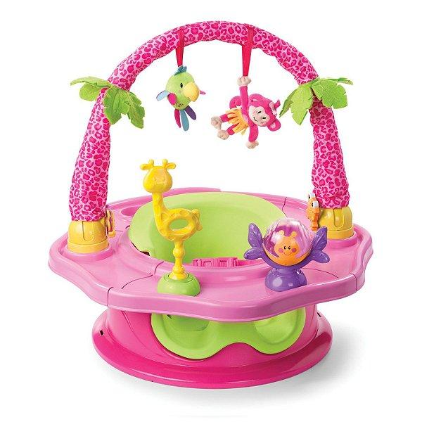 Cadeira de Alimentação Summer Superseat - Island Giggles - Rosa (bumbo)