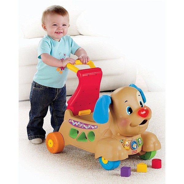 Andador Cachorrinho Aprender & Brincar (sentar)