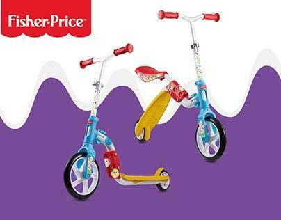 Bicicleta de Equilibrio e Patinete 2 em 1 Aro 8