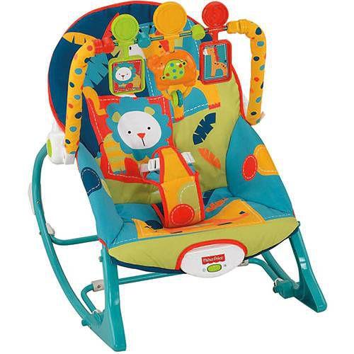 Cadeira de Balanço Minha Infância Elefante - Fisher Price