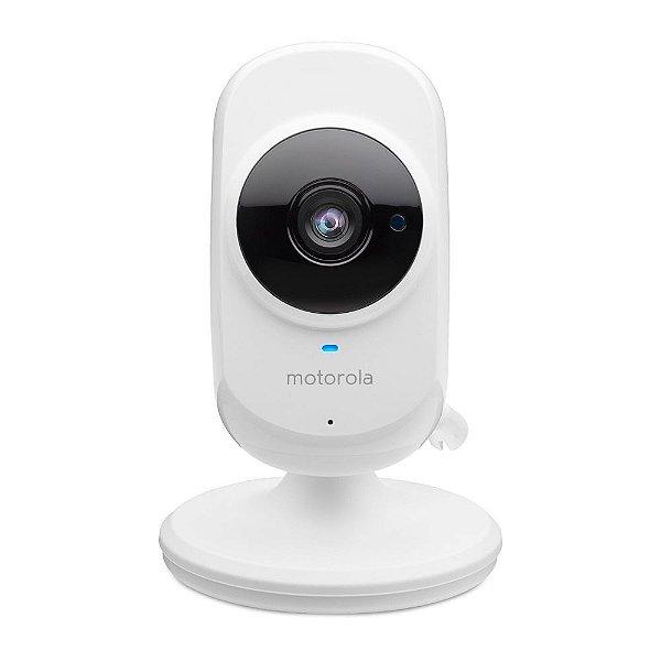 Câmera de Monitoramento HD WI-FI e Visão Noturna Focus 68 Branca - babá eletrônica