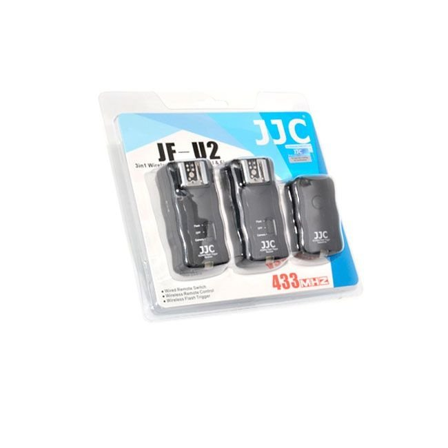 Kit Radio Flash 1 Transmissor + 2 Receptores JJC