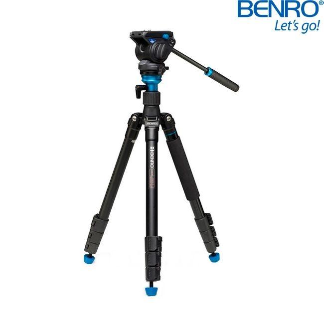 Kit Tripé de Vídeo Benro Aero 4  A2883FS4
