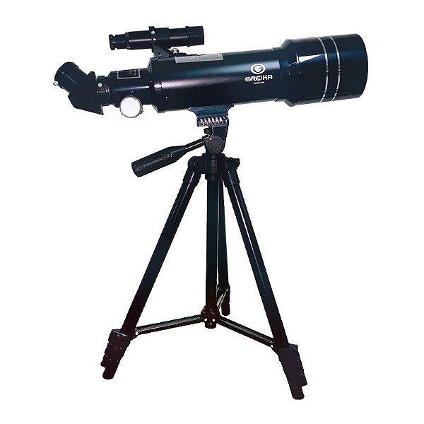 Telescopio Azimutal Refrator Com Tripe e Acessorios Modelo 40070