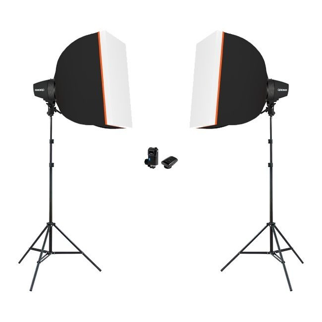 Kit Flash DSD K150 Softbox 3040