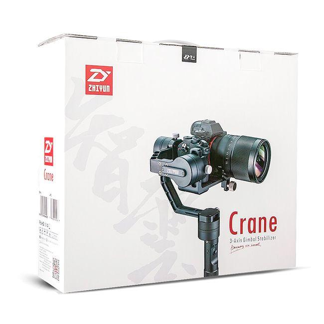 Estabilizador Inteligente Steadycam CRANE Com 3 Eixos