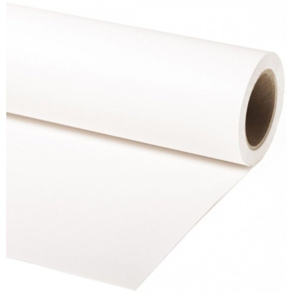 Fundo de Papel Branco 1,35 x 11m (cortado manualmente)