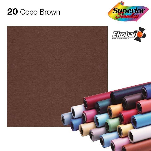 Fundo de Papel Coco Brown 2,72 x 11m