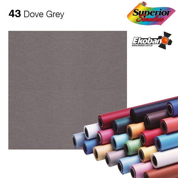 Fundo de Papel Dove Grey 2,72 x 11m