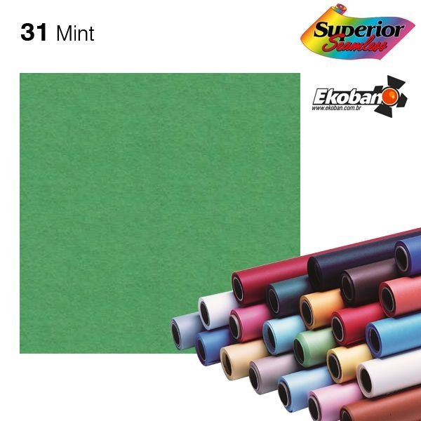 Fundo de Papel Mint 2,72 x 11m