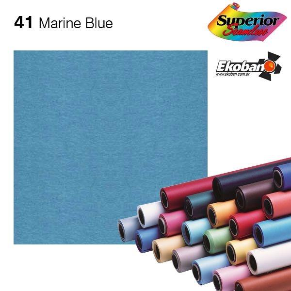 Fundo de Papel Marine Blue 2,72 x 11m