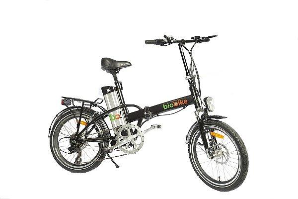 Bicicleta Elétrica Biobike, Quadro em Alumínio, Modelo JS 12