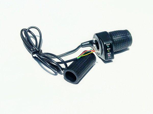 Acelerador c/ Painel 36v (meio punho)
