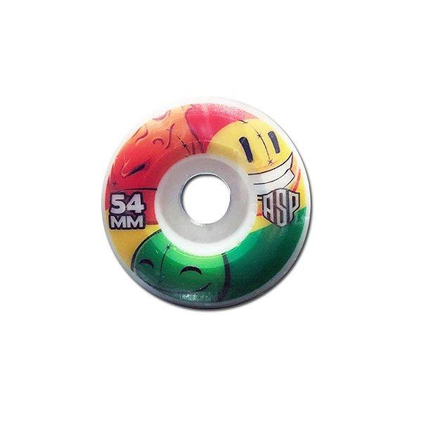 Roda Aspecto 54 mm Gum Bullet Mix Cônica.
