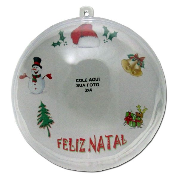 10 - Bola de Natal para alvore