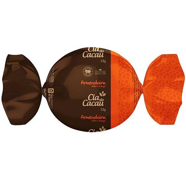 TRUFA CIA DO CACAU CHOCOLATE  COM AMENDOIM 23g