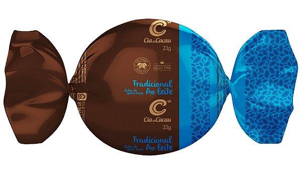 TRUFA CIA DO CACAU CHOCOLATE TRADICIONAL AO LEITE 23g