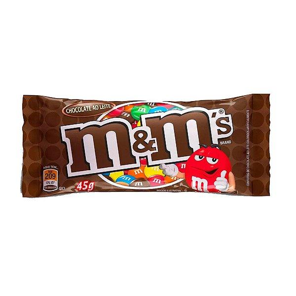 MARS CHOCOLATE M&MS AO LEITE 45g