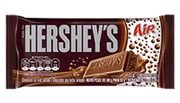HERSHEYS CHOCOLATE TABLETE AERADO LEITE 85g