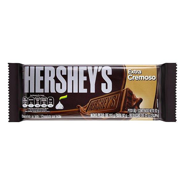 HERSHEYS CHOCOLATE TABLETE EXTRA CREMOSO 92g