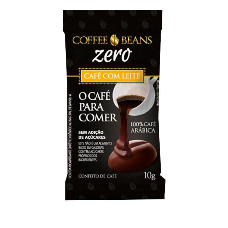 DIATT COFFE BEANS CAFE LEITE ZERO 10g