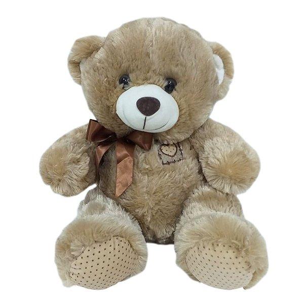 Urso Laço Marrom