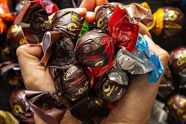 PROMO 5 TRUFAS DE CHOCOLATE AO LEITE 23g
