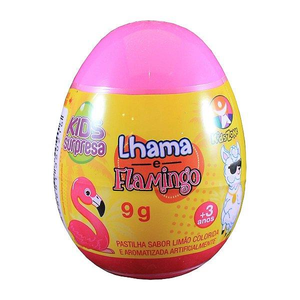 OVO SURPRESA KIDS LHAMA E FLAMINGO 9g