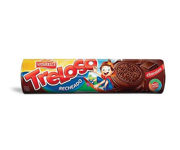 BISCOITO TRELOSO CHOCOLATE 130g