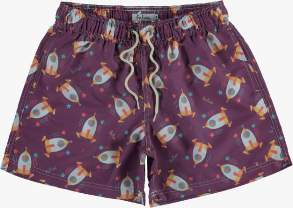 Short Estampa Naves