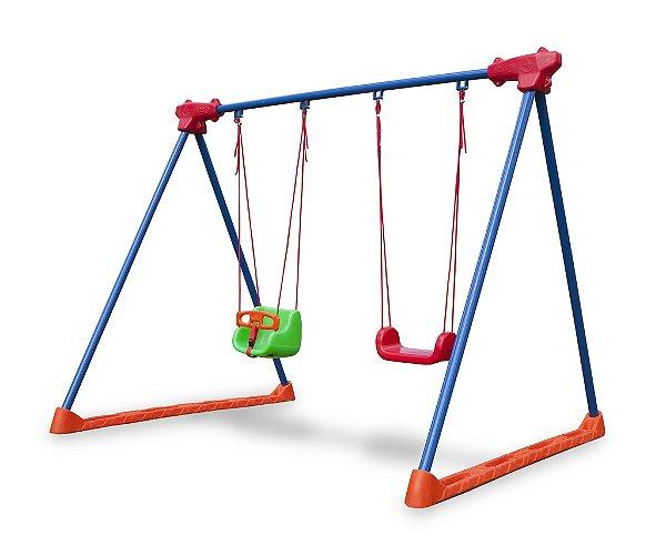 Balanço de Criança com assento e cadeirinha - FRESO