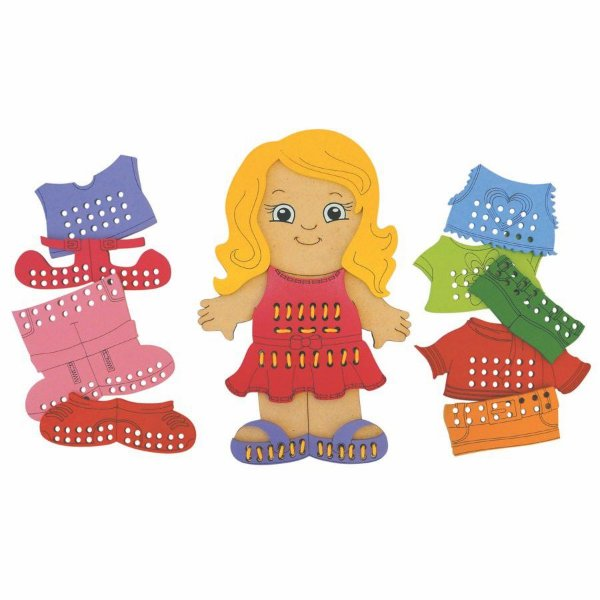 Alinhavos Brincando de Costurar - Menina