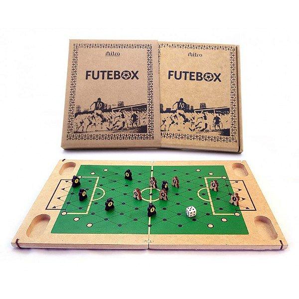 Futebox Futebol De Botão Tabuleiro Em Madeira Mitra idade 6 +