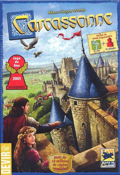 Carcassonne  - Jogo de Tabuleiro - 2ª Edição