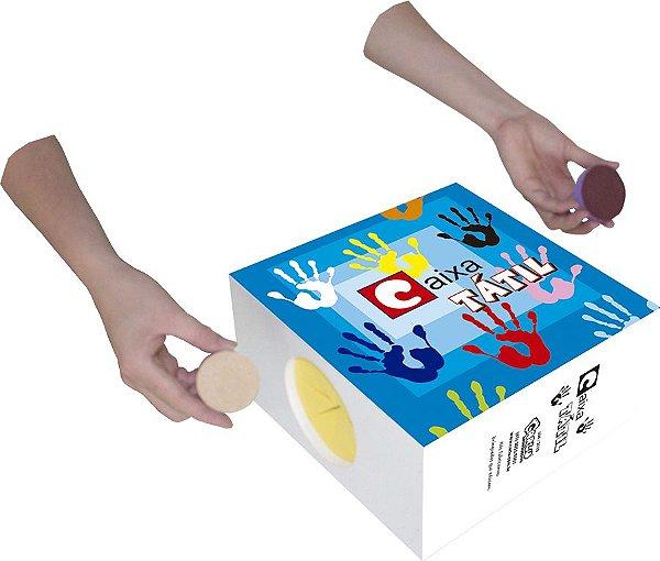 Caixa Tátil Material Pedagógico
