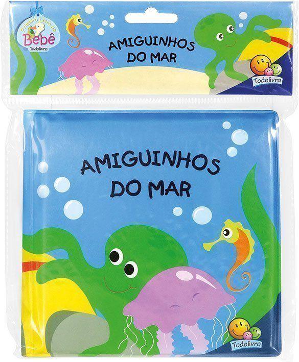 AMIGUINHOS LIVRO DE BANHO: AMIGUINHOS DO MAR
