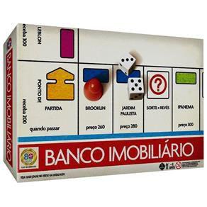 Banco Imobiliário Versão Clássica Anos 80 Estrela