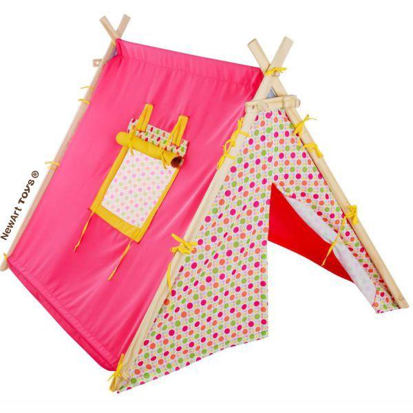 Barraca Rosa Acampamento NewArt Toys