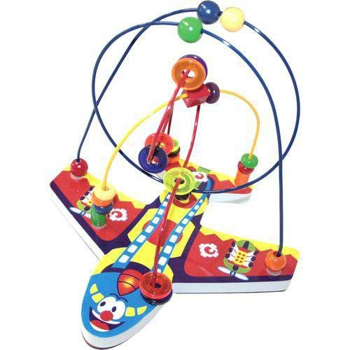 Brinquedo  Educativo Aramado Avião - Carlu