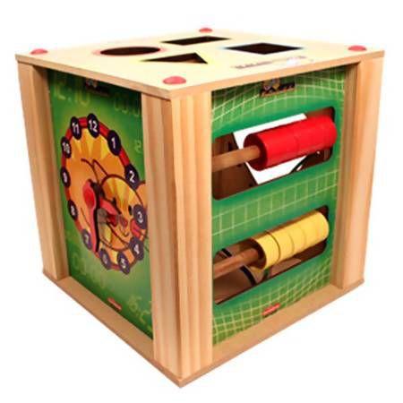 Brinquedo Educativo Cubo Multiatividades Carimbras