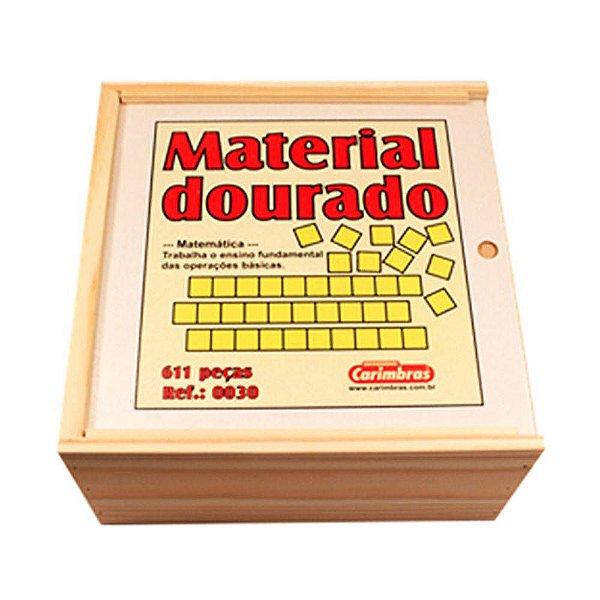 MATERIAL DOURADO - CARIMBRAS