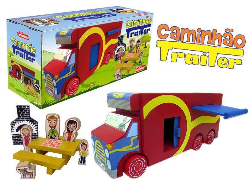 Caminhão Trailer - Carimbras